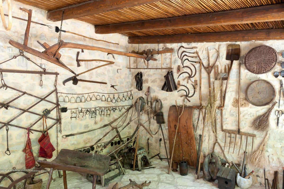 Λαογραφικό μουσείο -Το σπιτι του Πολιου,στο Αστερι Ρεθυμνου Poliou-house-museum-034